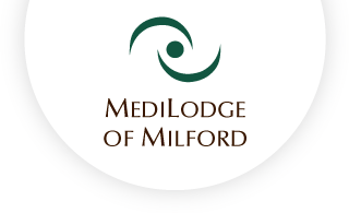 Medilodge of milford web logo